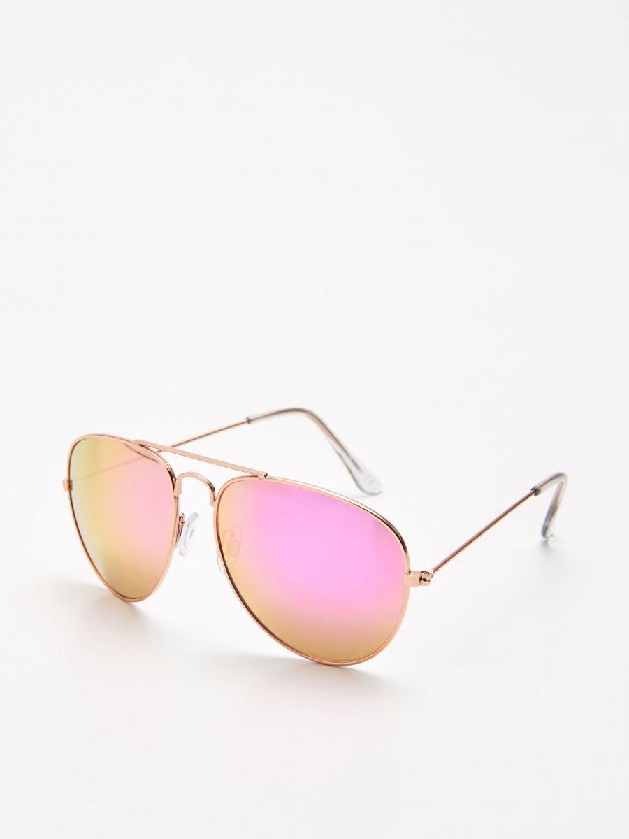 Очки-авиаторы - розовый - XX450-03X - Cropp - 1