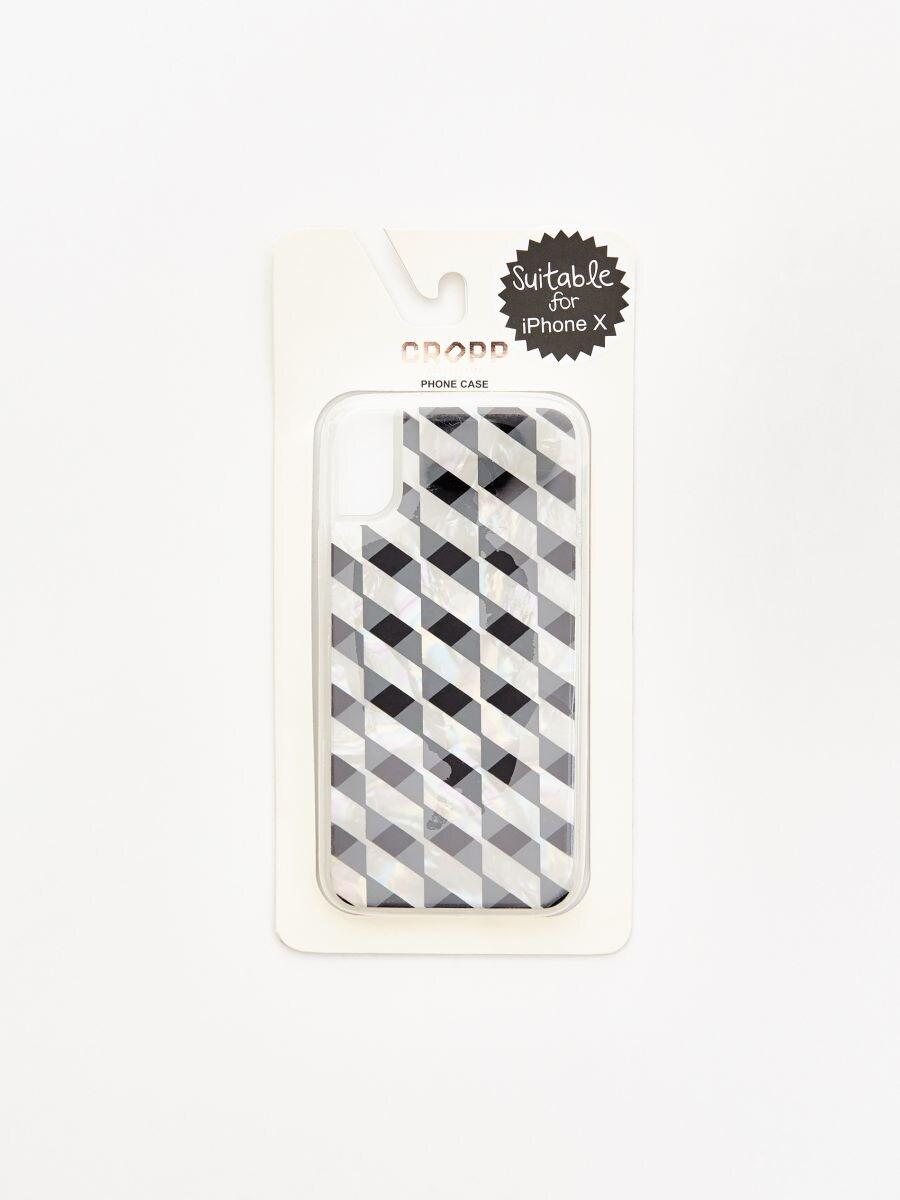 Чехол для iPhone Х - белый - XZ648-00X - Cropp - 1