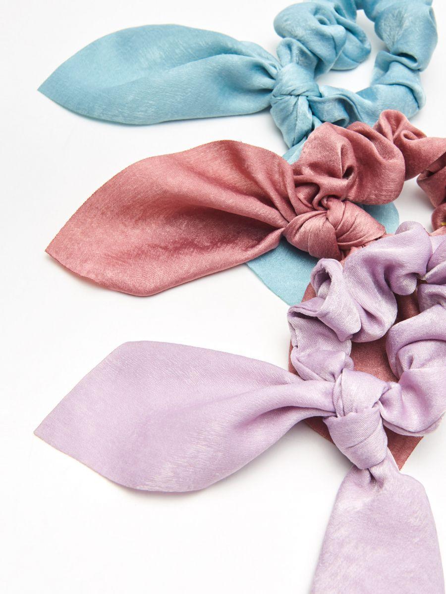 Набор резинок для волос - фиолетовый - YV824-04X - Cropp - 2