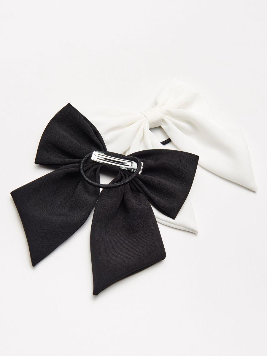 Набор резинок для волос - черный - YV825-99X - Cropp - 1