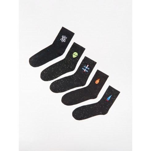 Цветные носки, 5 пар в упаковке