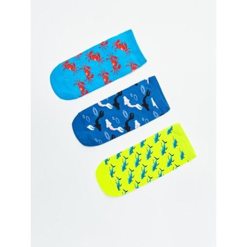 Тройная упаковка носков