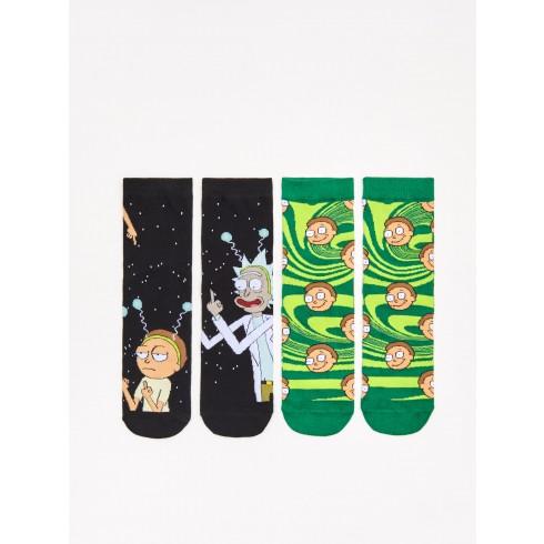 Носки Rick&Morty, 2 пары