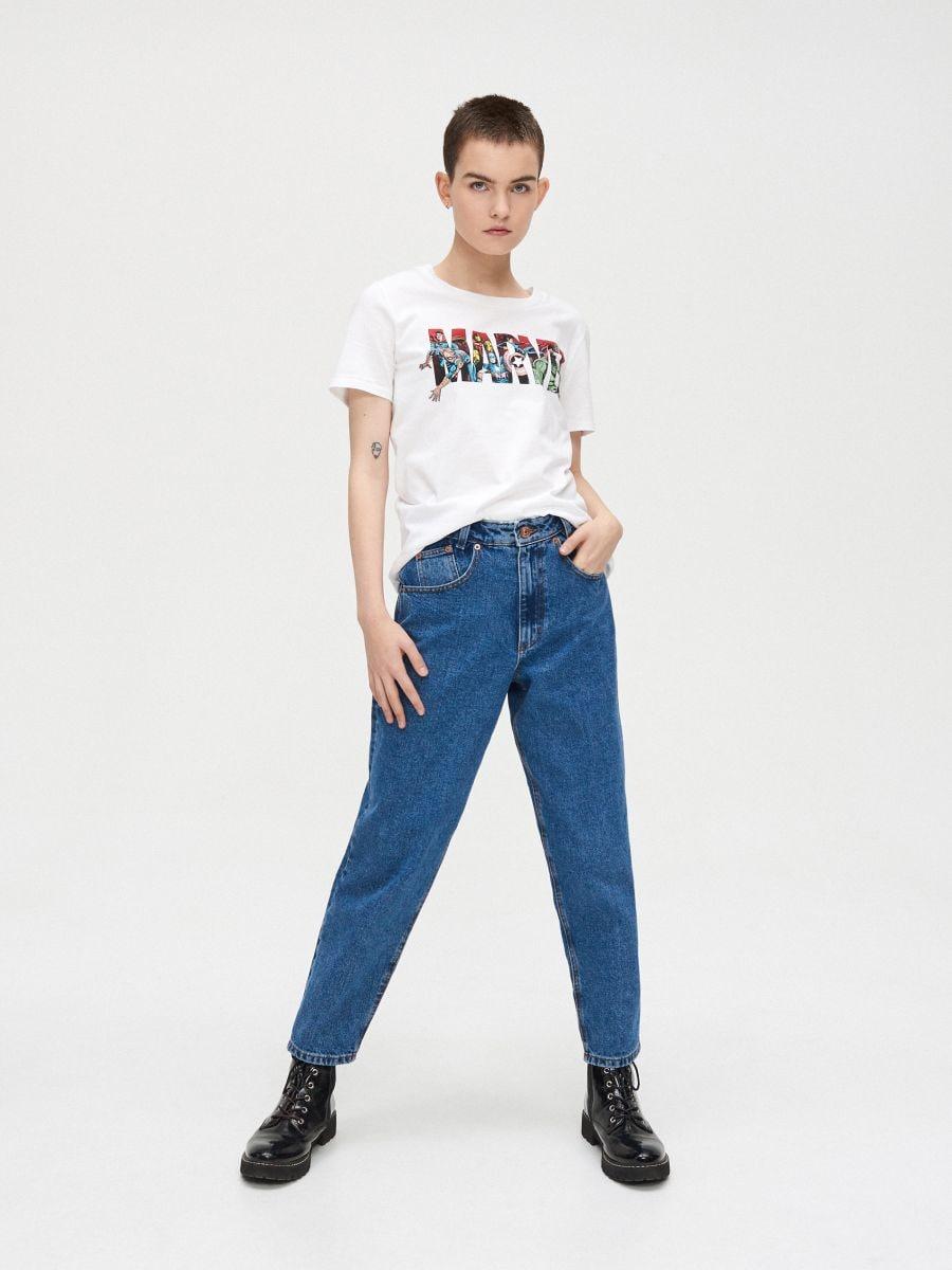 Majica Kratkih Rukava Marvel Cropp Ye135 00x