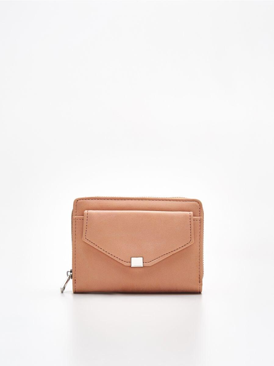 Peňaženka z eko kože - Béžová - WR021-08X - Cropp - 1