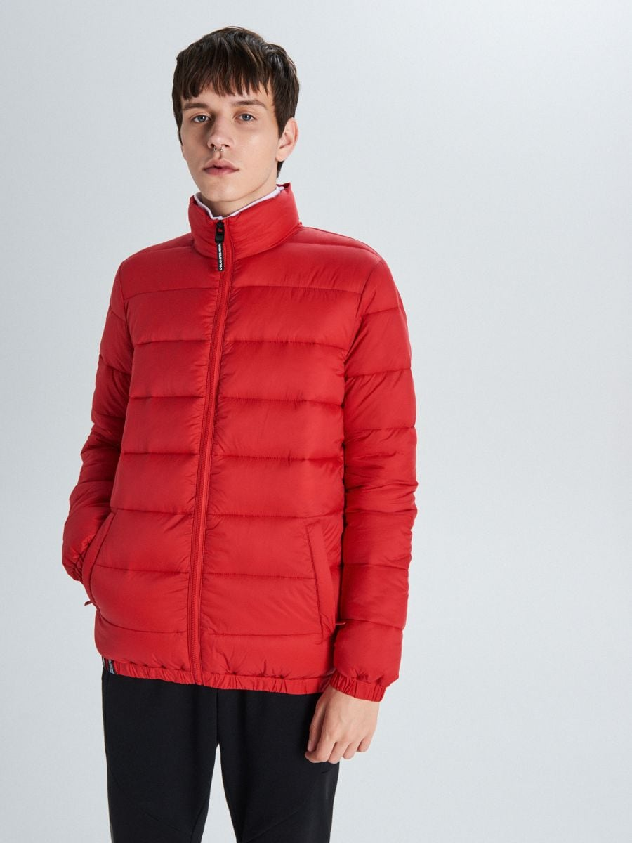 Prešívaná bunda - Červená - VB156-33X - Cropp - 1