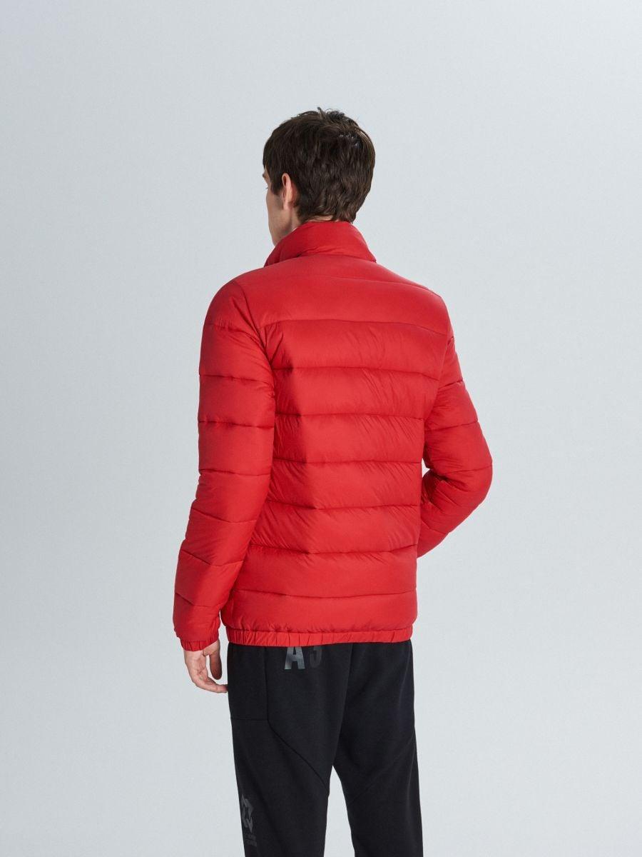 Prešívaná bunda - Červená - VB156-33X - Cropp - 5