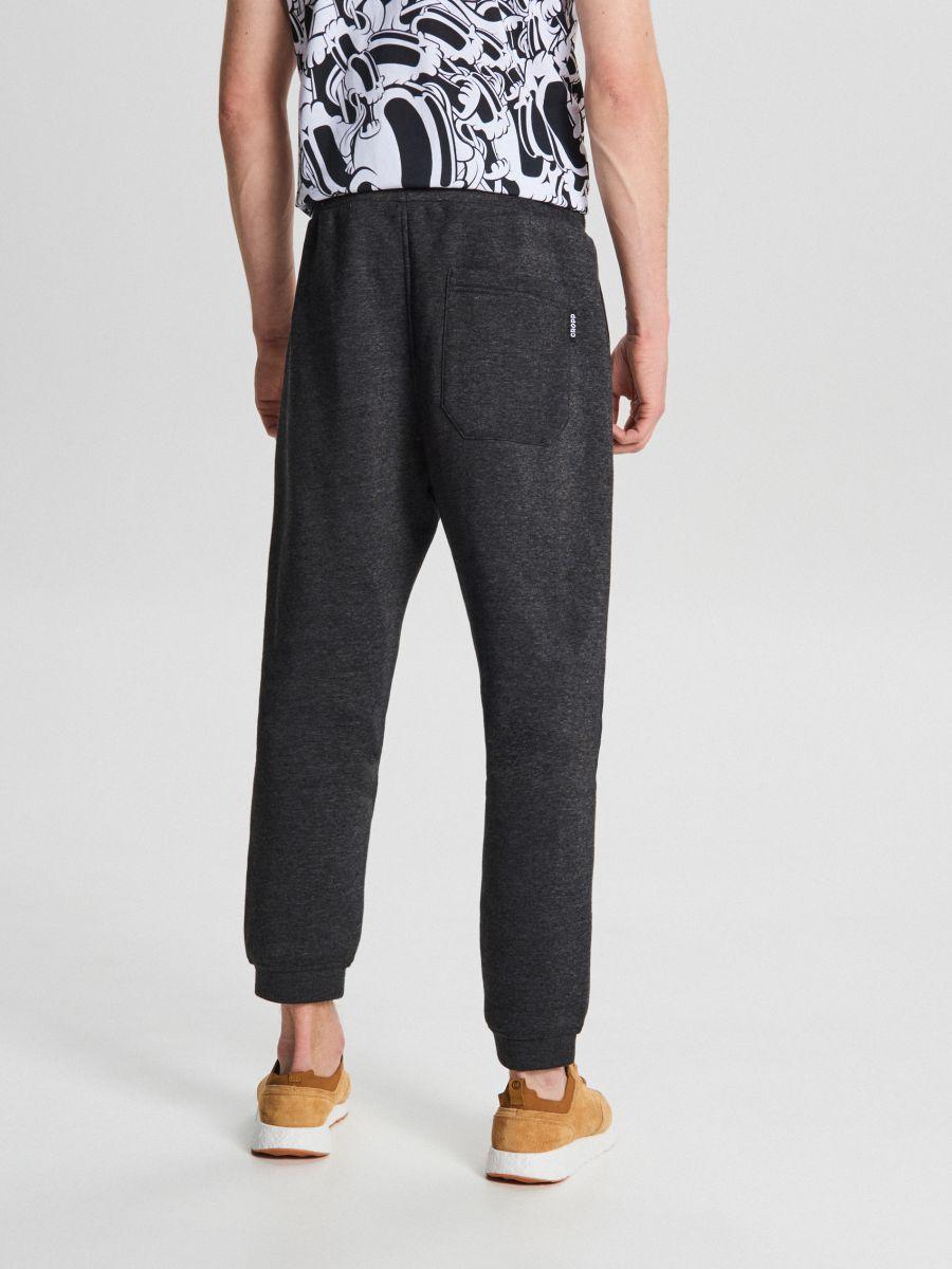 Teplákové basic nohavice - Čierna - WB520-99M - Cropp - 4