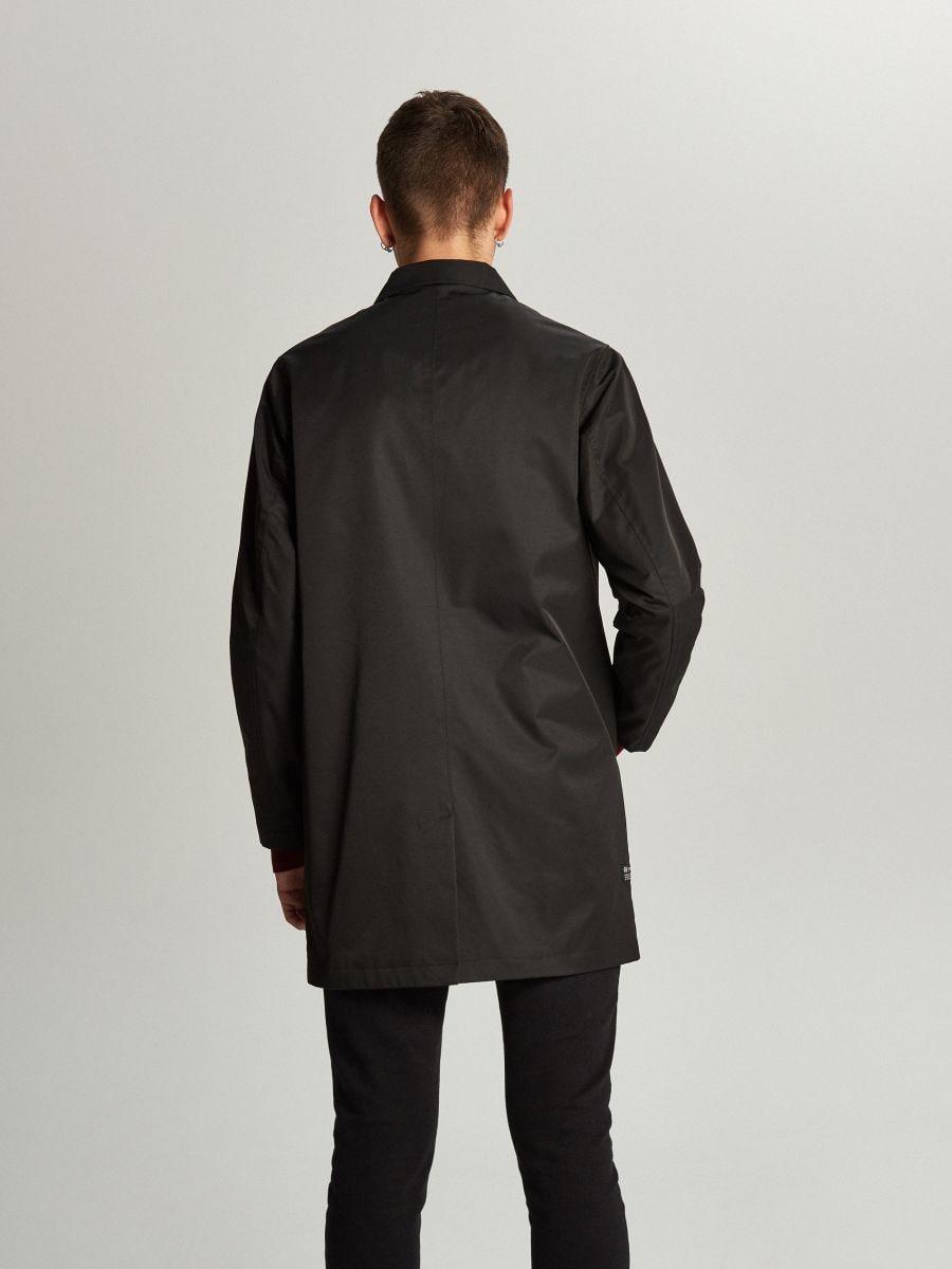 Ľahký kabát - Čierna - WL841-99X - Cropp - 3