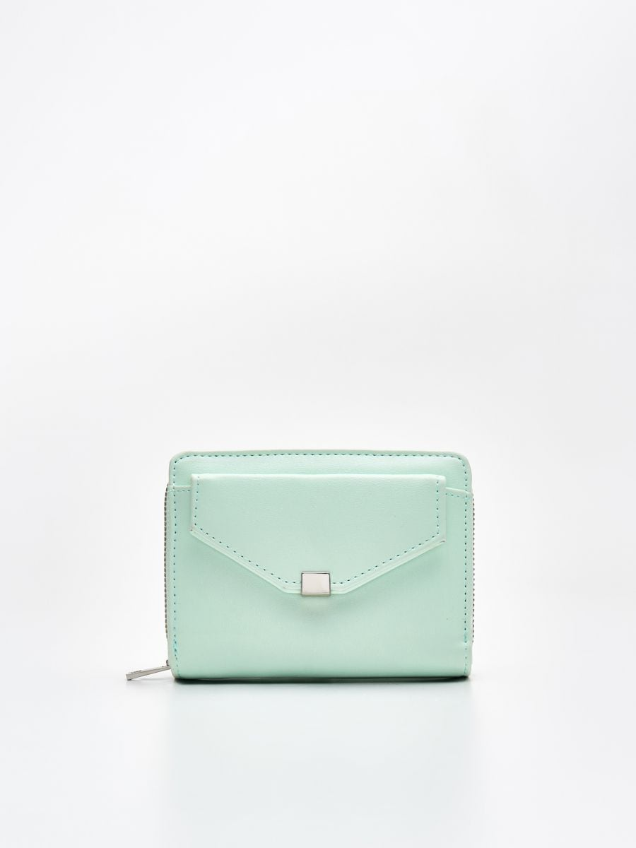 Peňaženka z eko kože - Modrá - WR021-05X - Cropp - 1