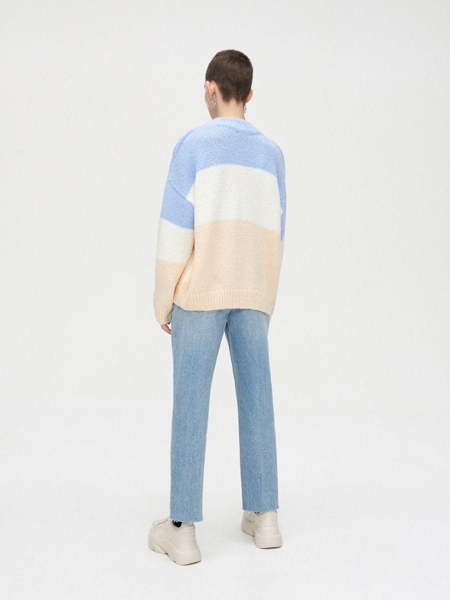 Voľný sveter - Krémová - WR730-02X - Cropp - 5