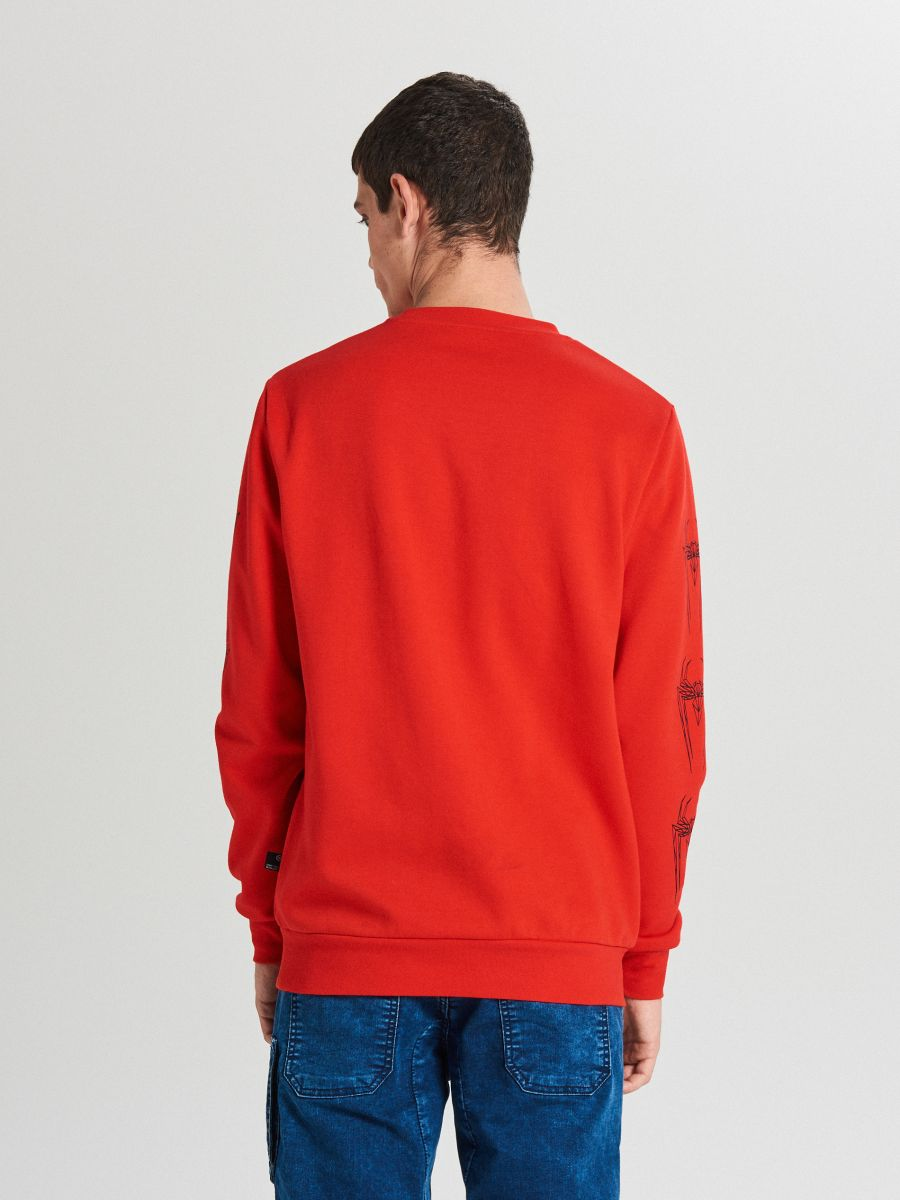 Mikina spiderman - Červená - WX639-33X - Cropp - 4