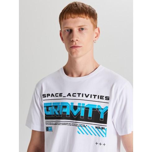 Tričko s nápisom