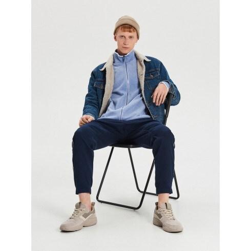Mikina track jacket na zips