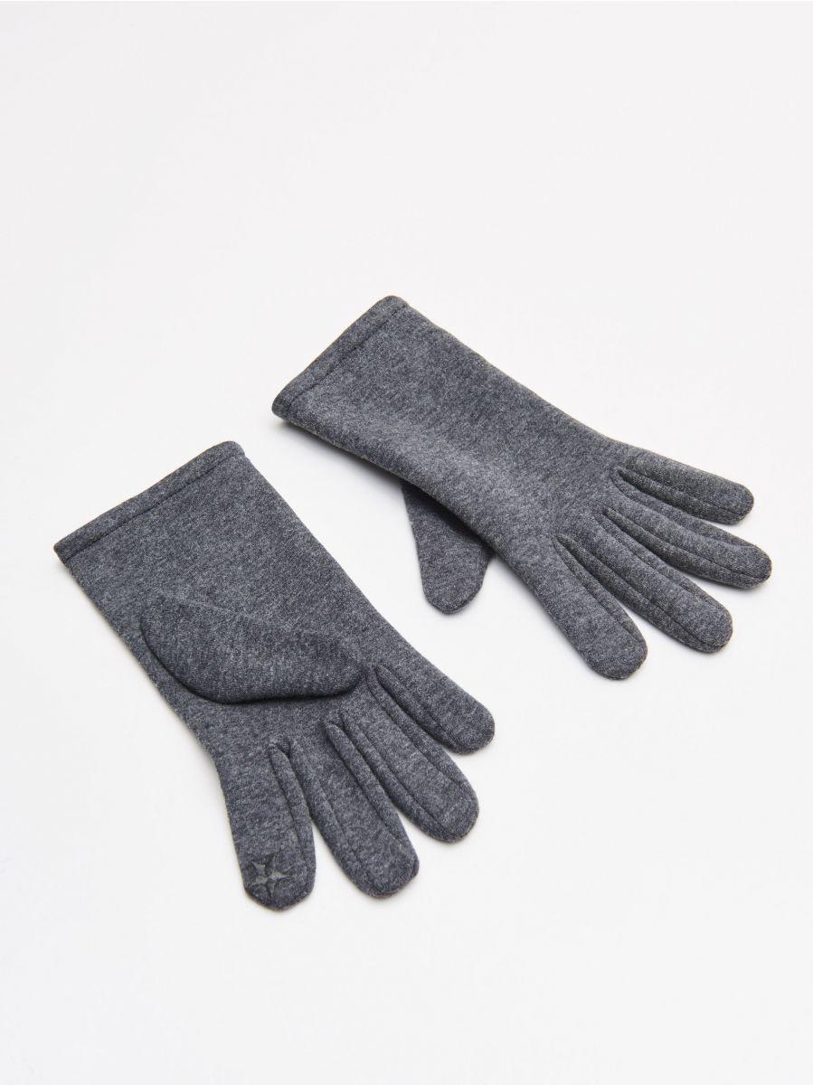 Mănuși - GRI - WD980-90X - Cropp - 1