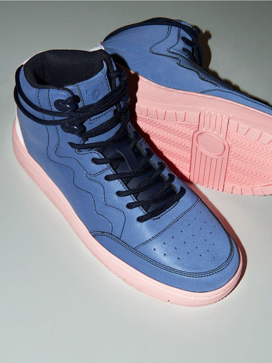 Pantofi Sneakers peste gleznă - BLEUMARIN - WE874-59X - Cropp - 2
