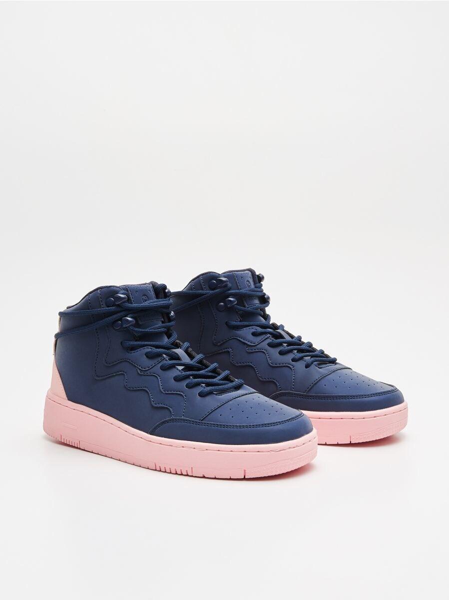 Pantofi Sneakers peste gleznă - BLEUMARIN - WE874-59X - Cropp - 3