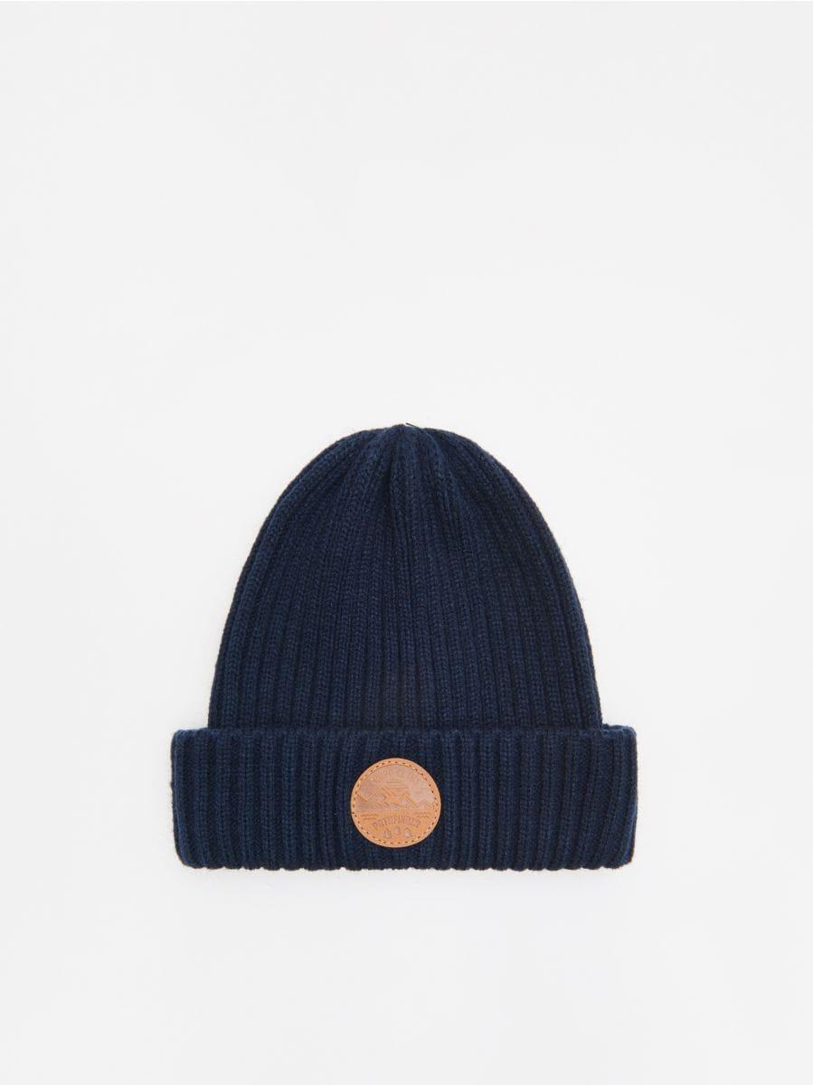 Șapcă cu emblemă - BLEUMARIN - WK511-59X - Cropp - 1