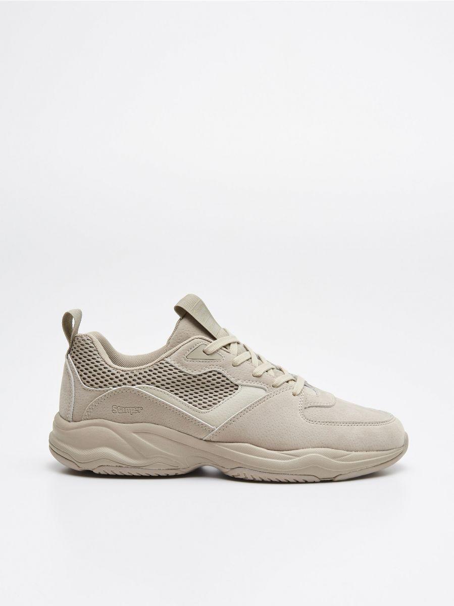 Pantofi sport - BEJ - WN929-80X - Cropp - 1