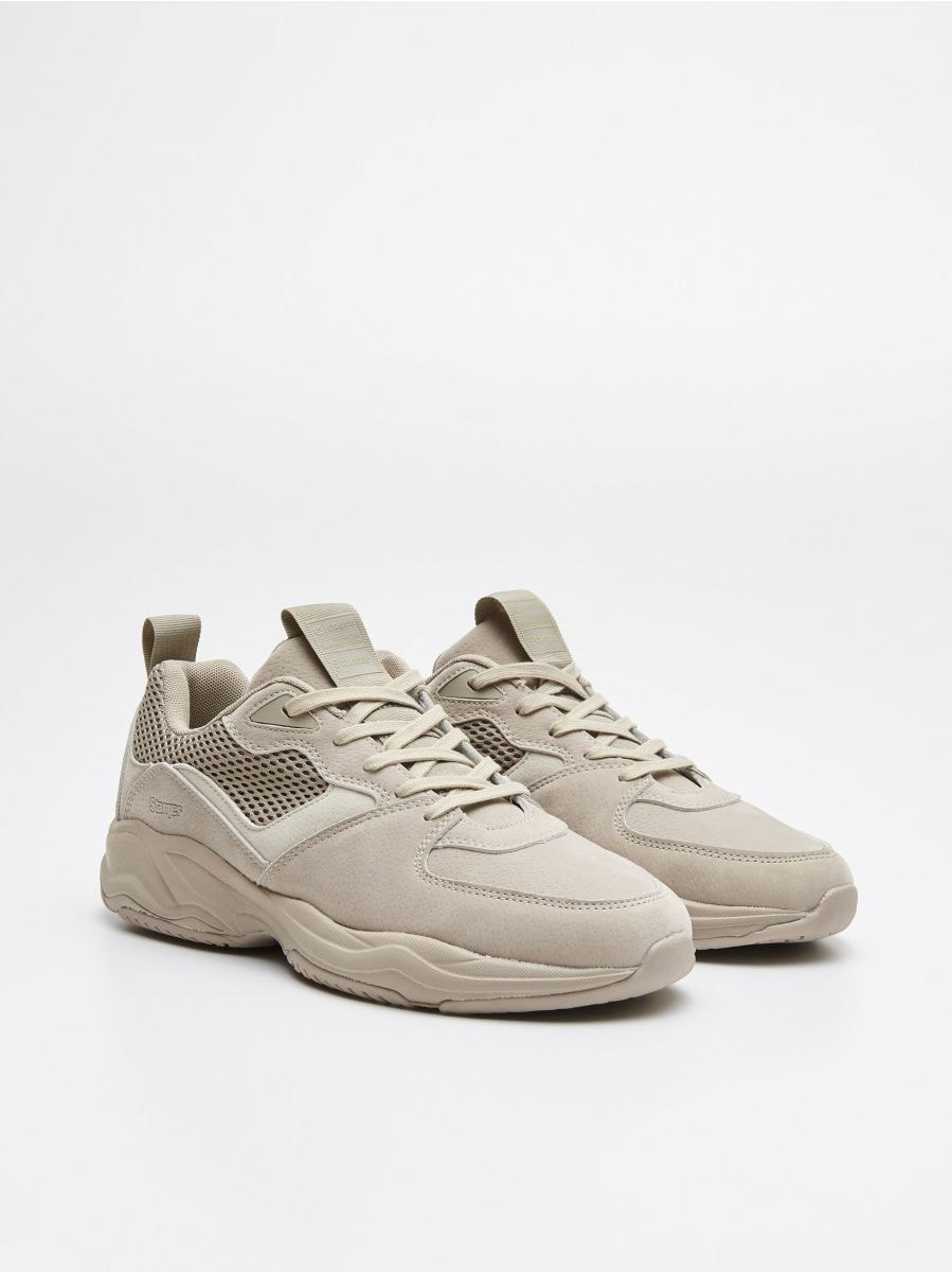Pantofi sport - BEJ - WN929-80X - Cropp - 3