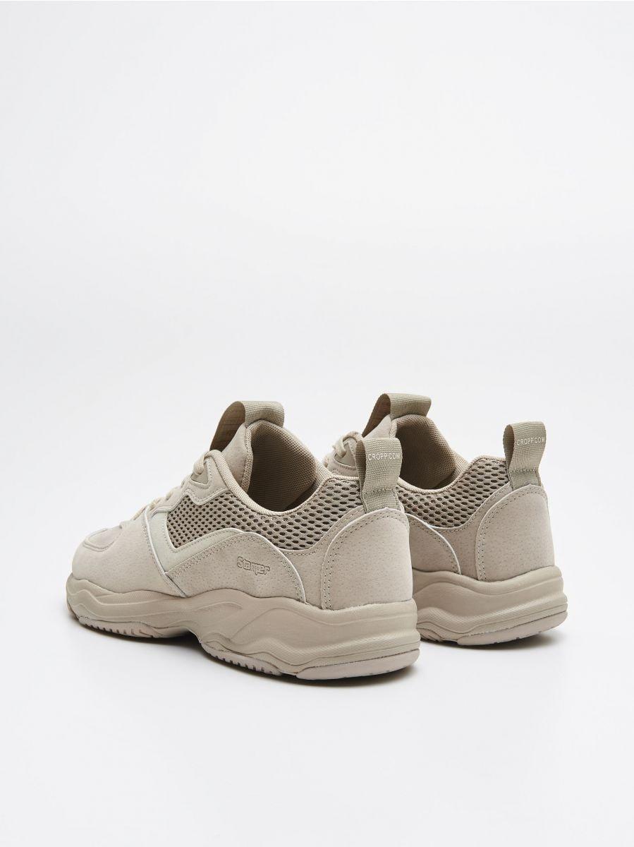 Pantofi sport - BEJ - WN929-80X - Cropp - 4