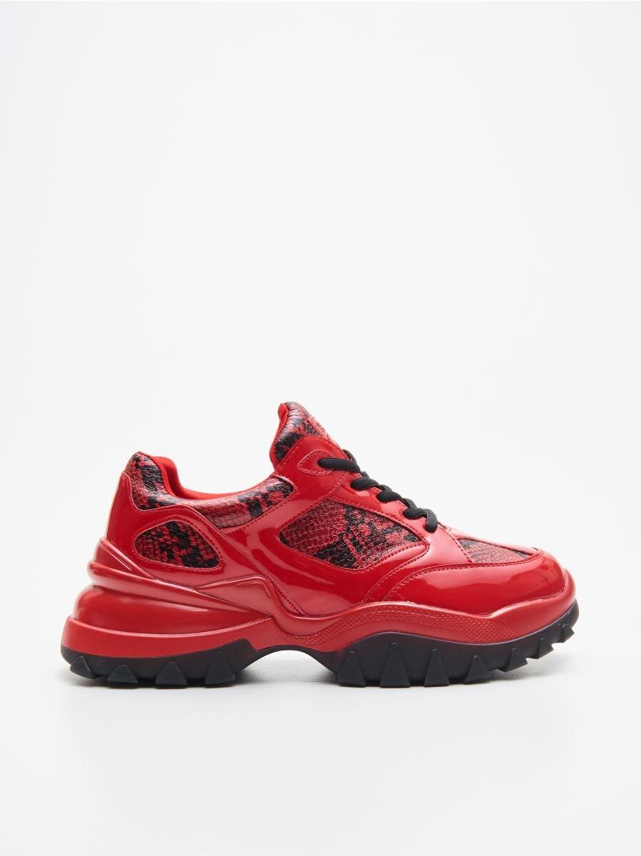 Pantofi sport Daddy - ROȘU - XH294-33X - Cropp - 1