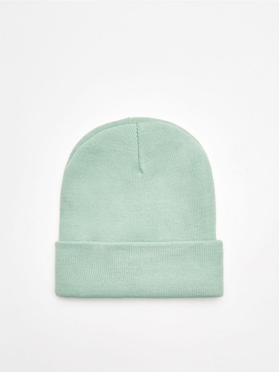 Șapcă cu emblemă - VERDE - XK185-70X - Cropp - 3