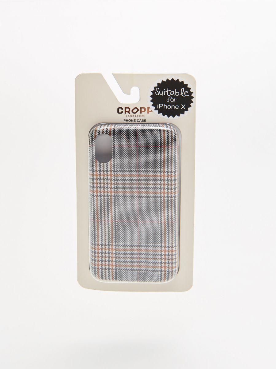 Carcasă iPhone X - GALBEN - XR406-11X - Cropp - 1