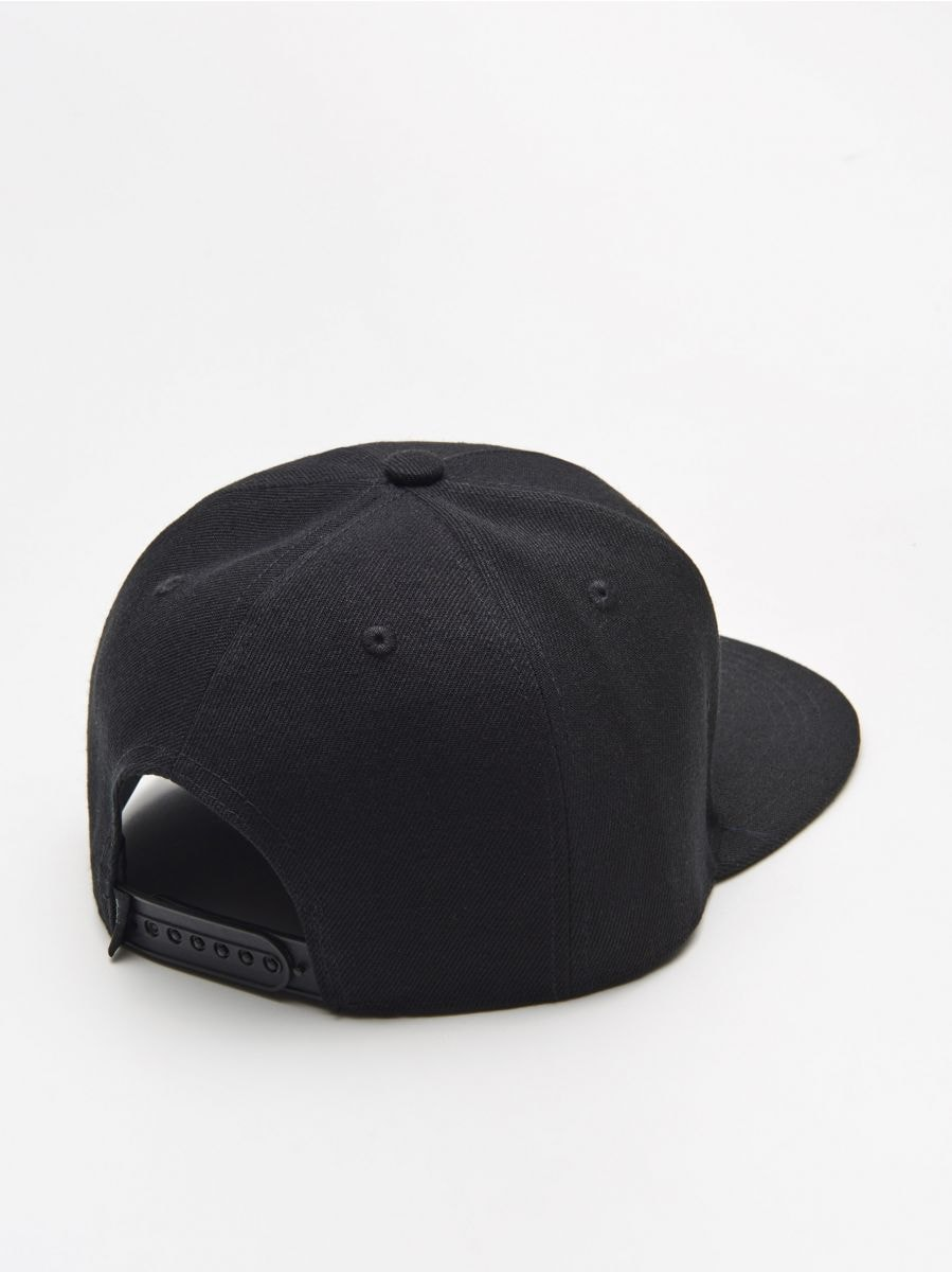 Șapcă snapback - NEGRU - XW667-99X - Cropp - 3