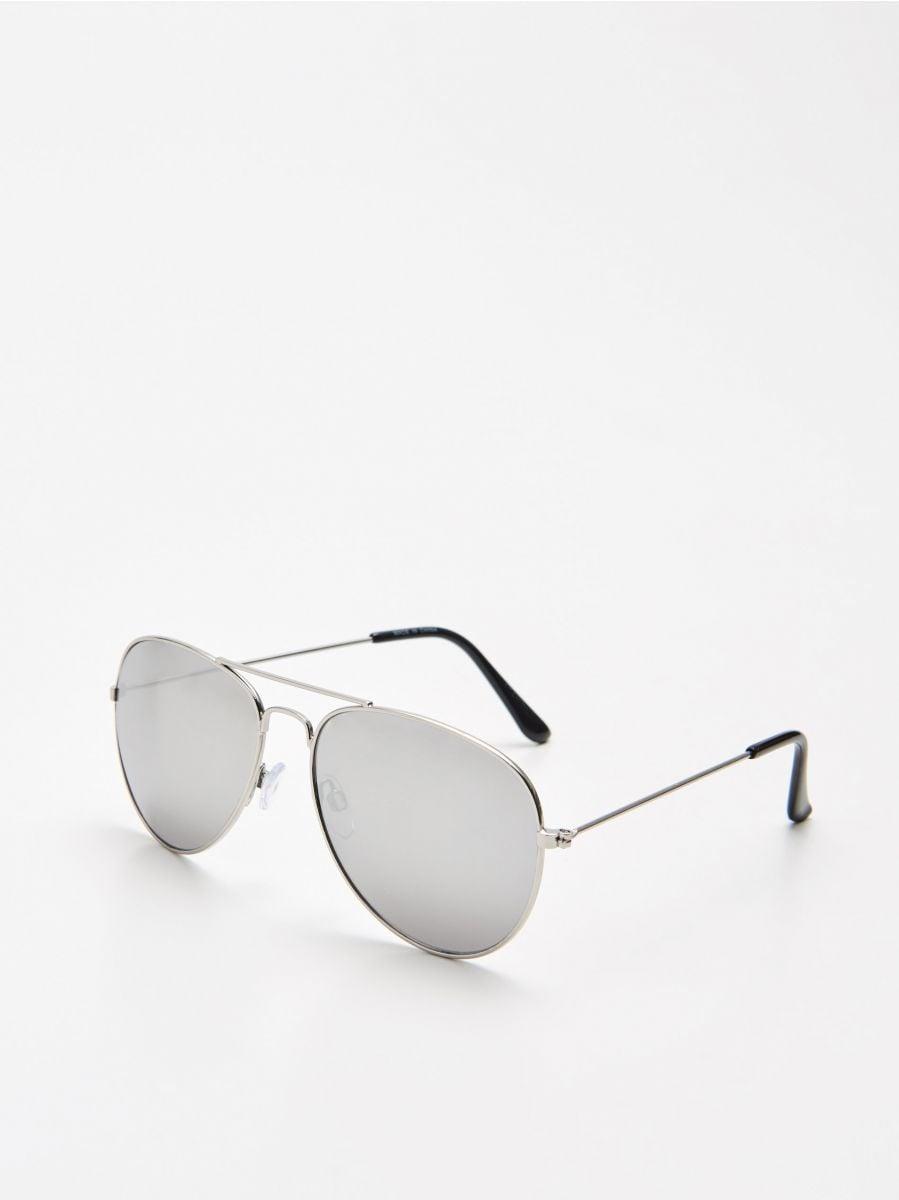 Ochelari tip aviator - GRI - XX450-90X - Cropp - 1