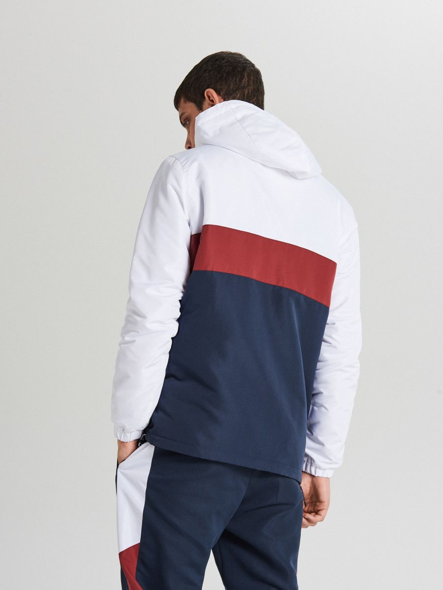 Jachetă tip hanorac, cu glugă - BLEUMARIN - WA087-59X - Cropp - 5