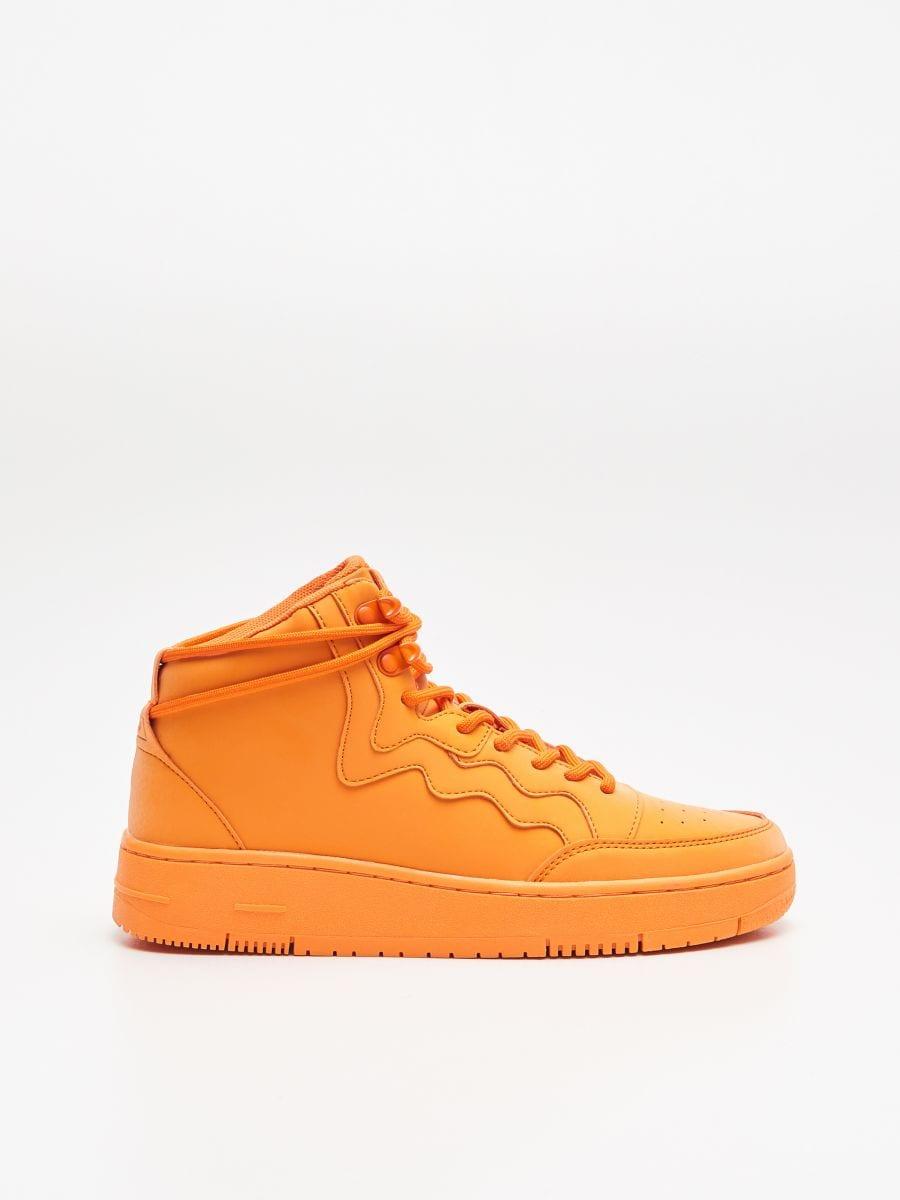 Pantofi Sneakers peste gleznă - ORANJ - WE874-22X - Cropp - 1