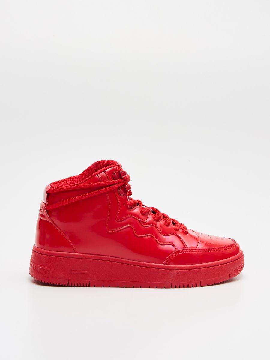 Pantofi Sneakers peste gleznă - ROȘU - WE874-33X - Cropp - 1