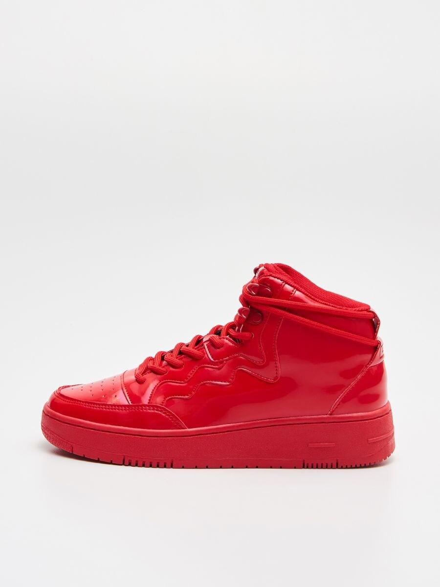Pantofi Sneakers peste gleznă - ROȘU - WE874-33X - Cropp - 4