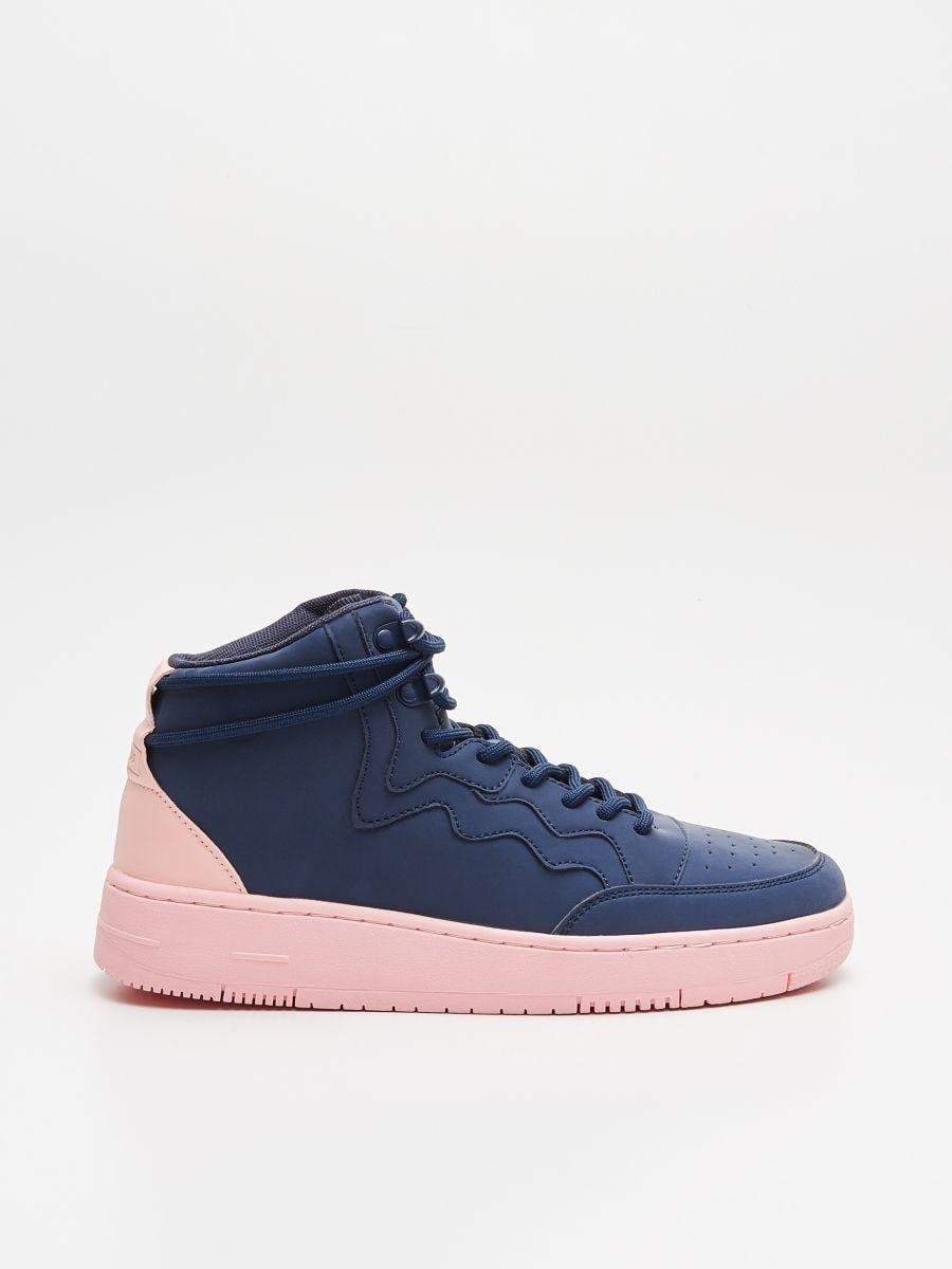 Pantofi Sneakers peste gleznă - BLEUMARIN - WE874-59X - Cropp - 1
