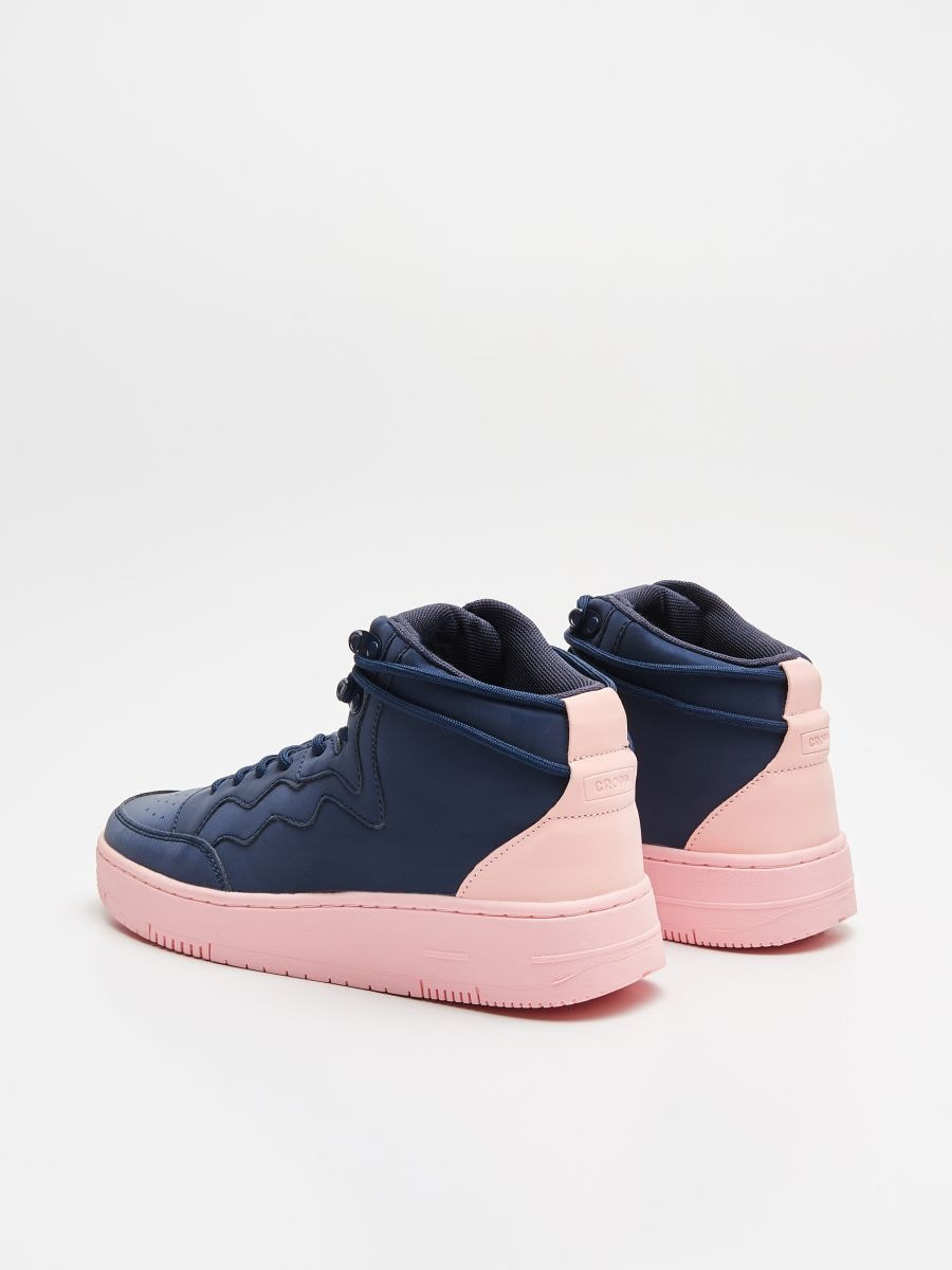 Pantofi Sneakers peste gleznă - BLEUMARIN - WE874-59X - Cropp - 5