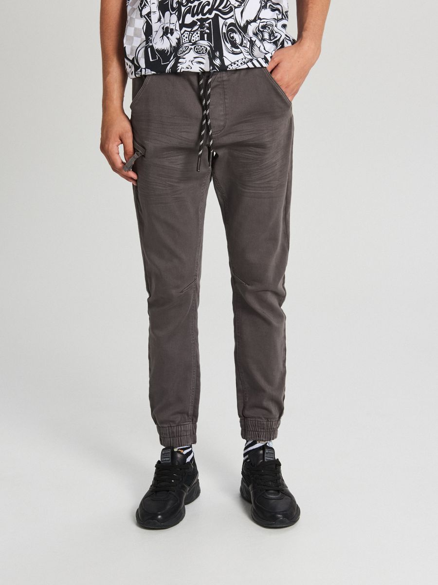 MEN`S TROUSERS - GRI - WH133-90X - Cropp - 2