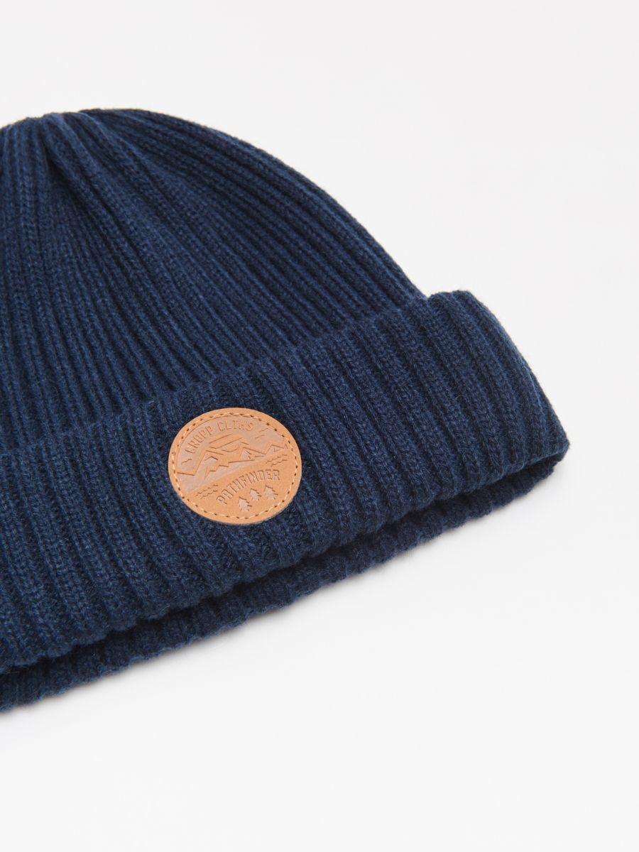 Șapcă cu emblemă - BLEUMARIN - WK511-59X - Cropp - 2