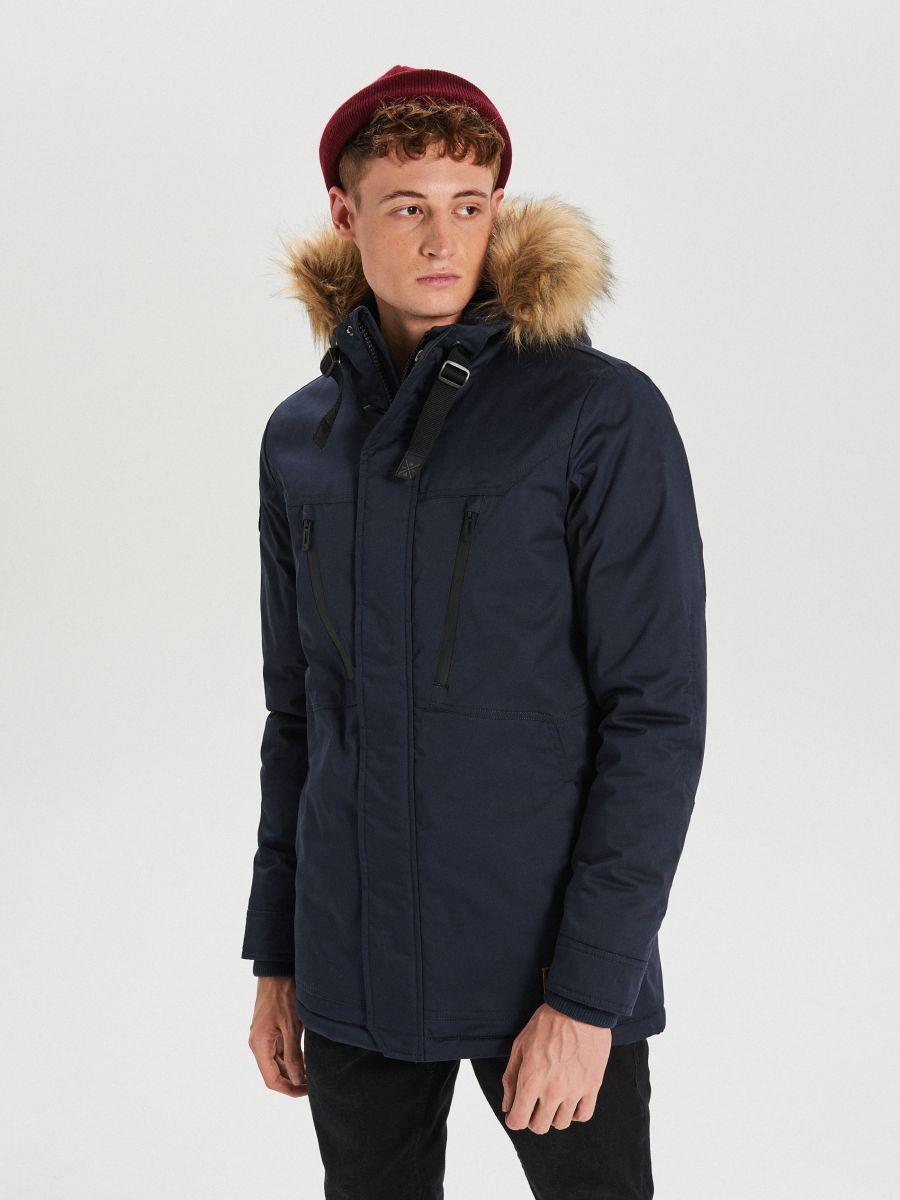 Palton călduros  - BLEUMARIN - WM617-59X - Cropp - 1