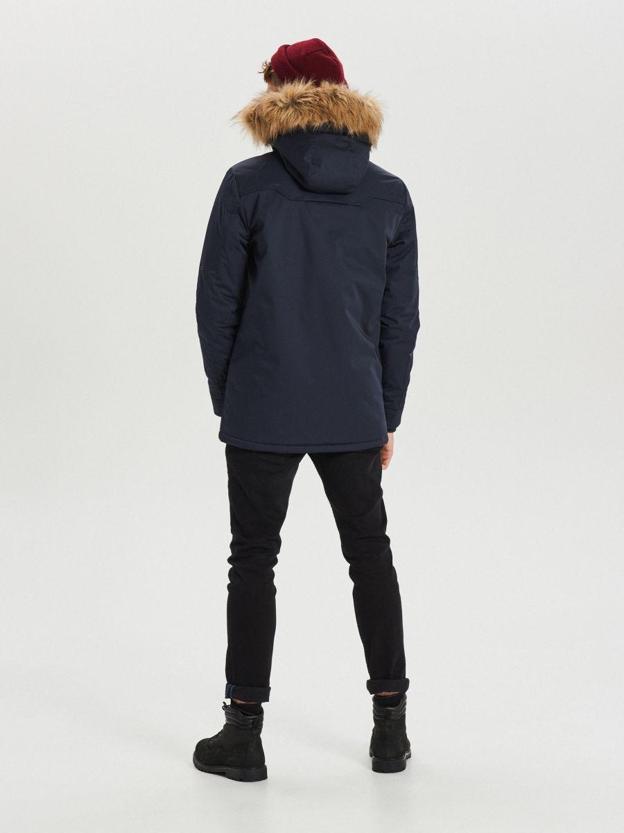 Palton călduros  - BLEUMARIN - WM617-59X - Cropp - 6
