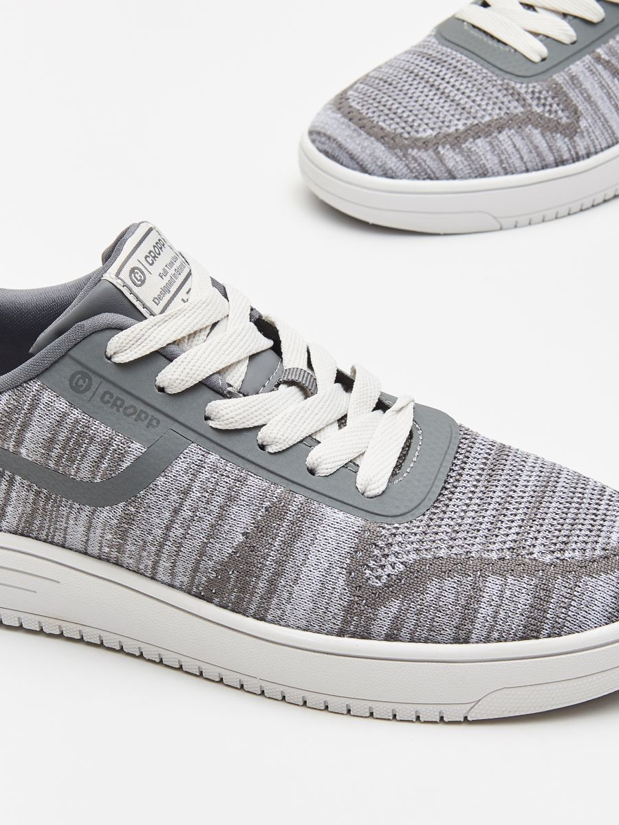 Pantofi sneakers sportivi - GRI DESCHIS - WN925-09X - Cropp - 3