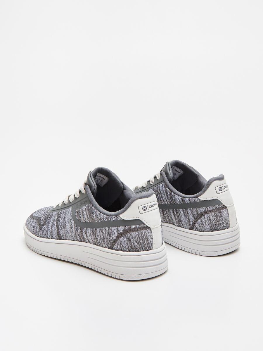 Pantofi sneakers sportivi - GRI DESCHIS - WN925-09X - Cropp - 4