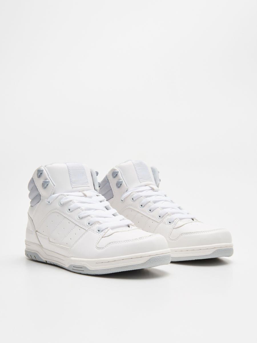 Sneakerși înalți - ALB - WN940-00X - Cropp - 3