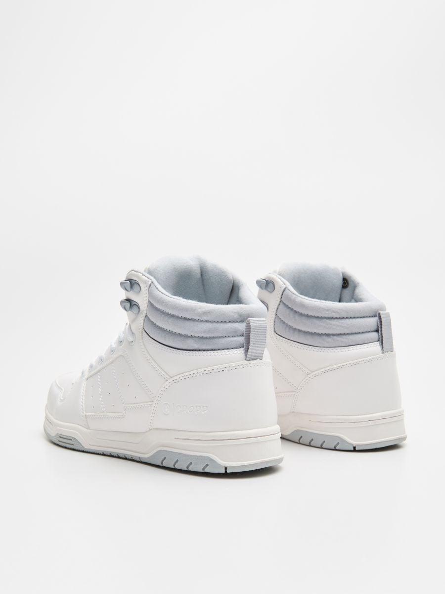 Sneakerși înalți - ALB - WN940-00X - Cropp - 4