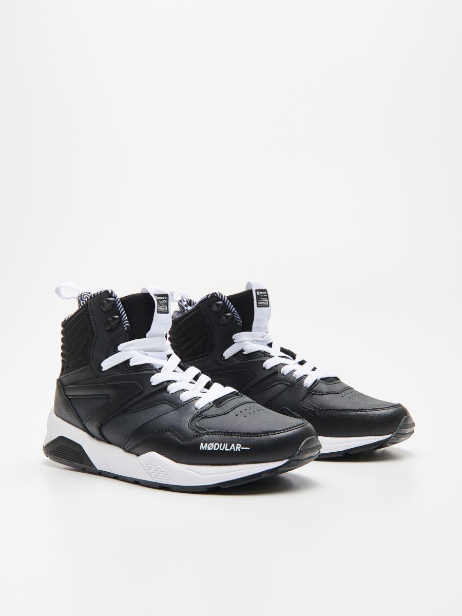 Pantofi cu închidere la gleznă - NEGRU - WN941-99M - Cropp - 3
