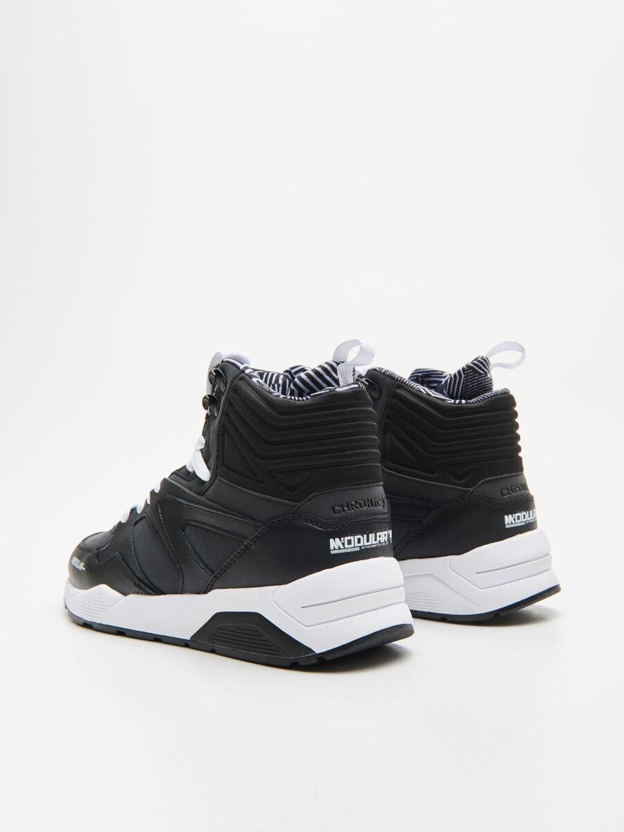 Pantofi cu închidere la gleznă - NEGRU - WN941-99M - Cropp - 4