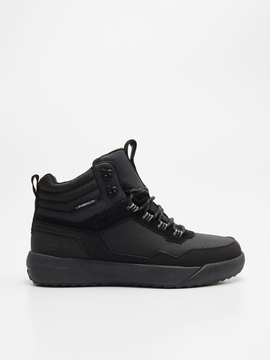 Pantofi sport ușori, cu înveliș impermeabil - NEGRU - WN943-99X - Cropp - 1