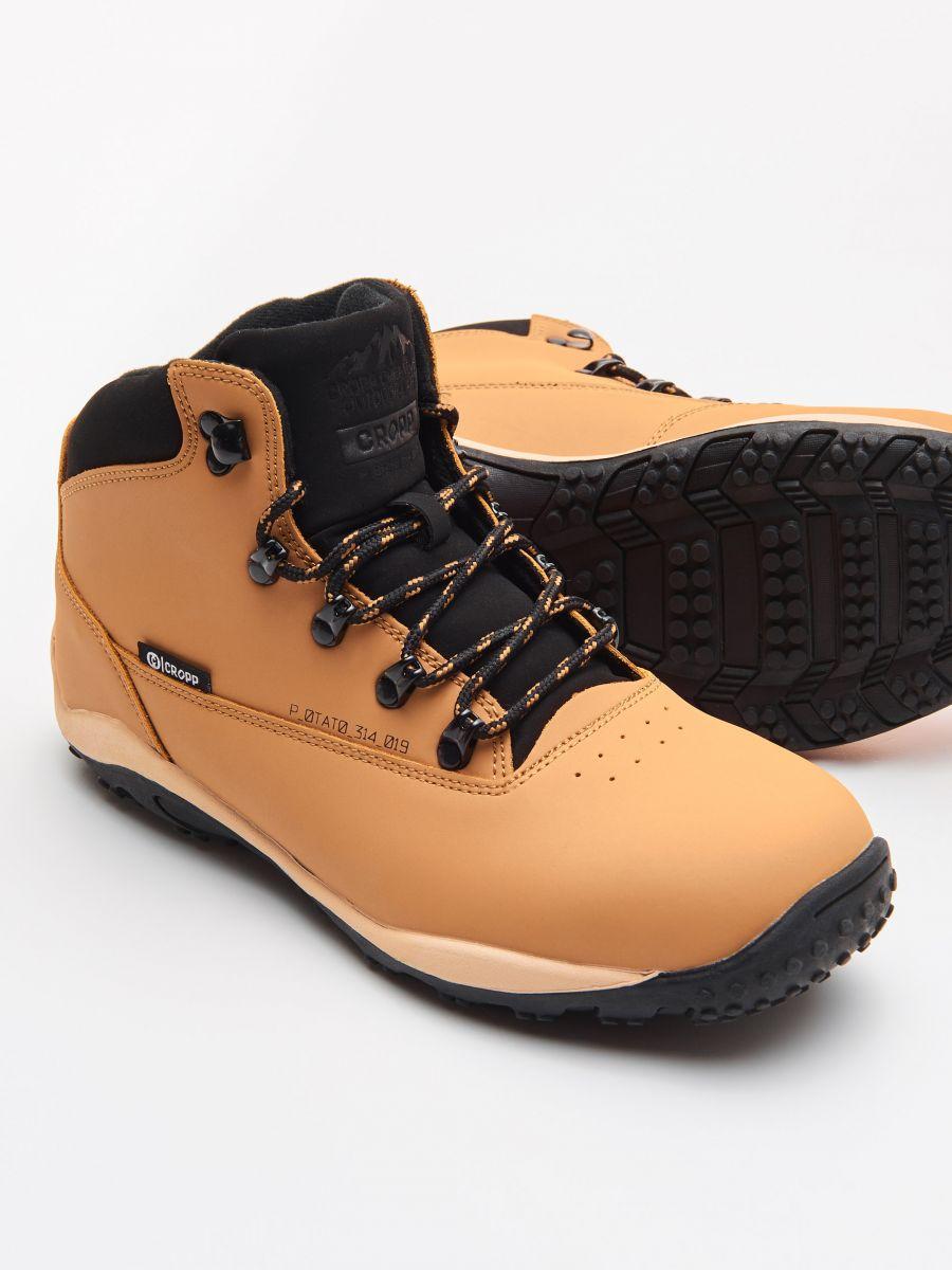 Pantofi Din Piele - GALBEN - WN955-18X - Cropp - 2