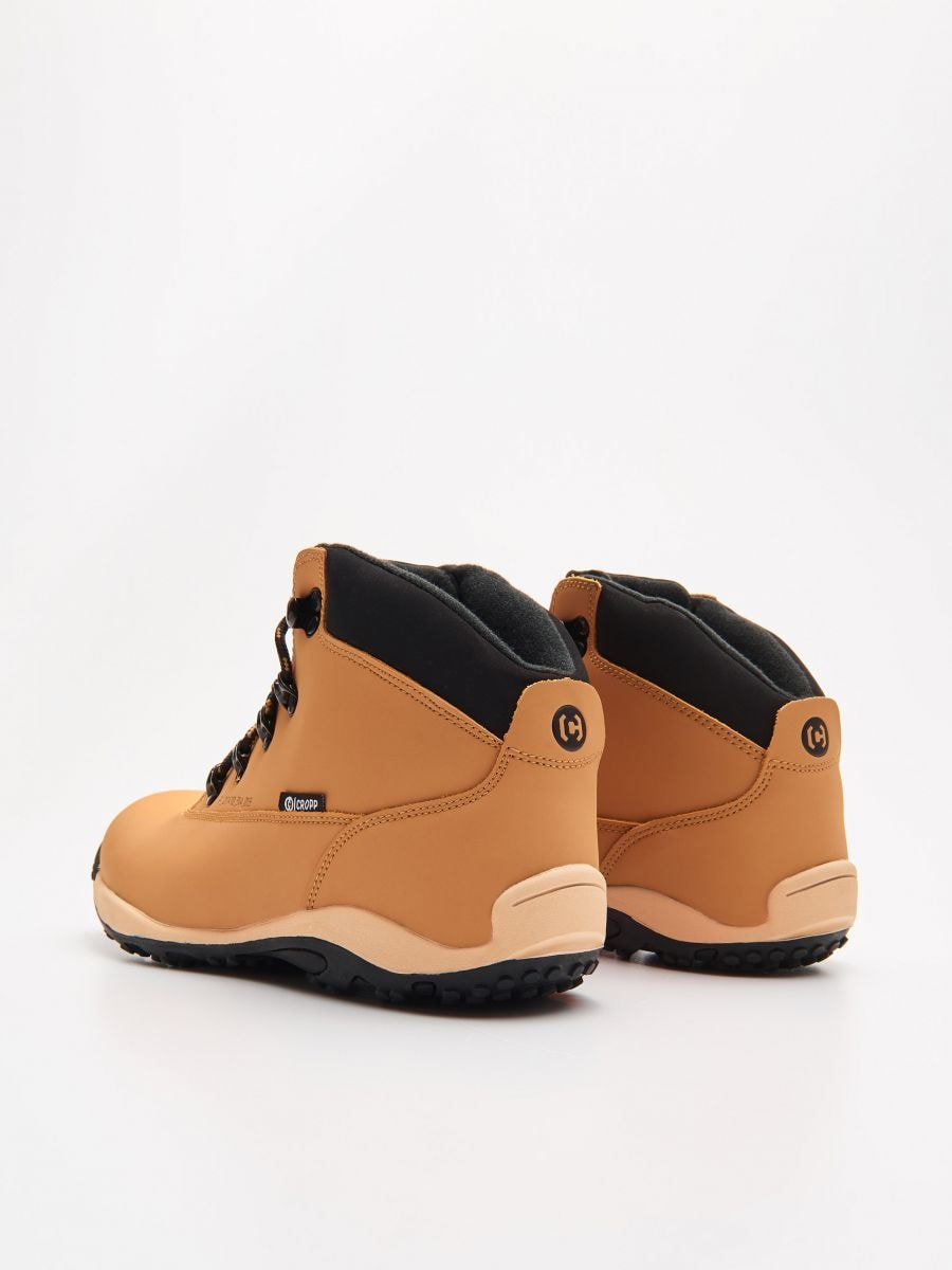 Pantofi Din Piele - GALBEN - WN955-18X - Cropp - 4