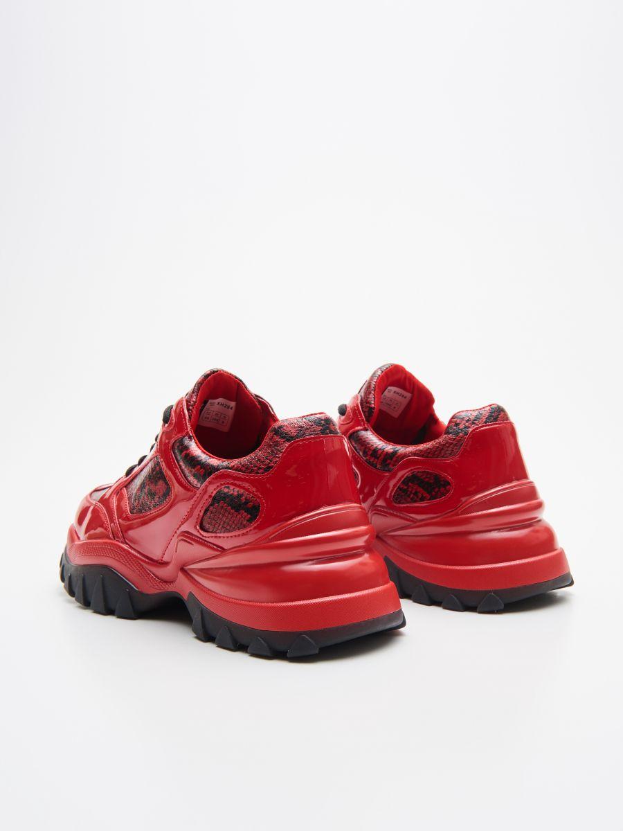 Pantofi sport Daddy - ROȘU - XH294-33X - Cropp - 4